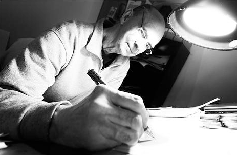 Corben Studios - About - image of Richard Corben drawing
