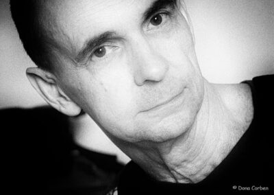 Richard Corben portrait by Dona.