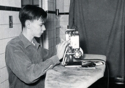 Richard Corben created movies with an 8mm movie camera as a boy.